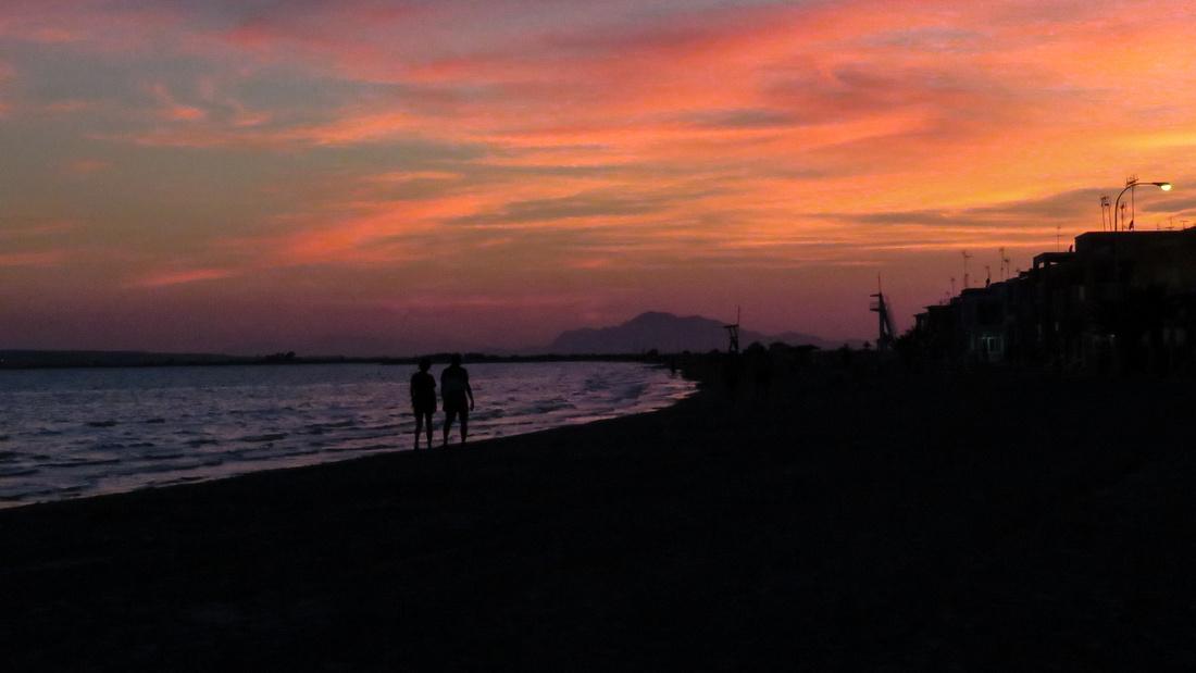 Costa Blanca sunset